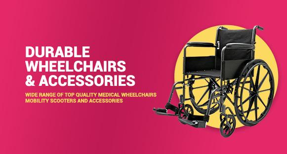 81 x 312 Durable Wheelchair